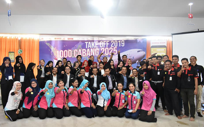 TAKE OFF 1000 CABANG TAHUN 2025